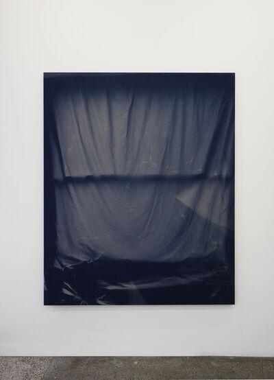 Chris Duncan, 'Bedroom Window (Blue #2) 6 Month Exposure. Summer-Winter 2013', 2015