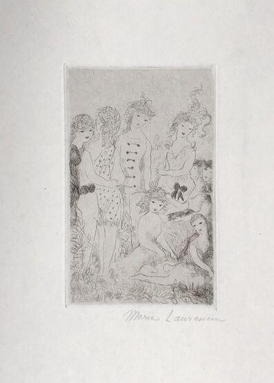 Marie Laurencin, 'Huit filles dans un pré', 1926