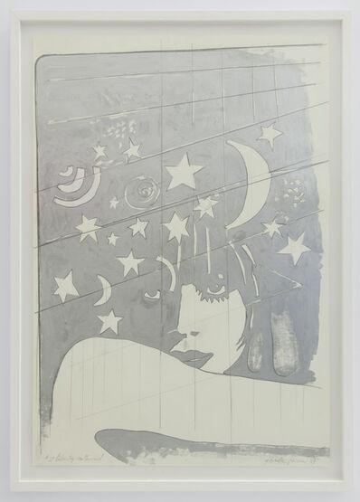 Giosetta Fioroni, '2' Liberty Notturno', 1969
