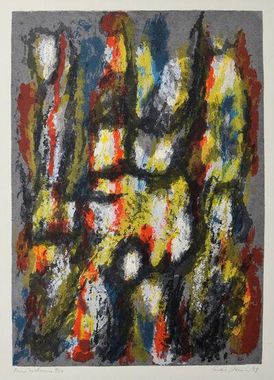 André JASMIN, 'Feux Nocturnes', 1957