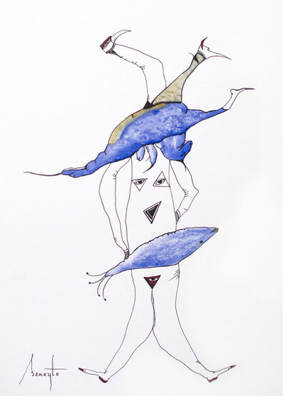 Antonio Beneyto, 'Personajes Postistas 09', 2013