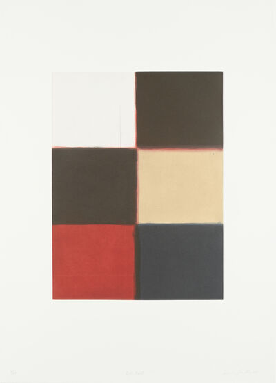 Sean Scully, 'Red fold', 2003