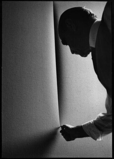 Ugo Mulas, 'Lucio Fontana, Milano', 1964