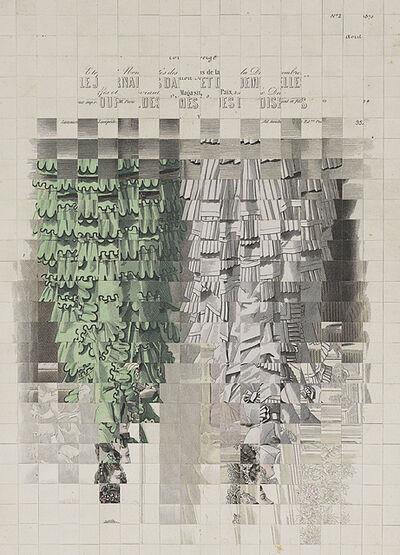 Jiri Kolar, 'Sans titre (Le journal des dames et des demoiselles)'