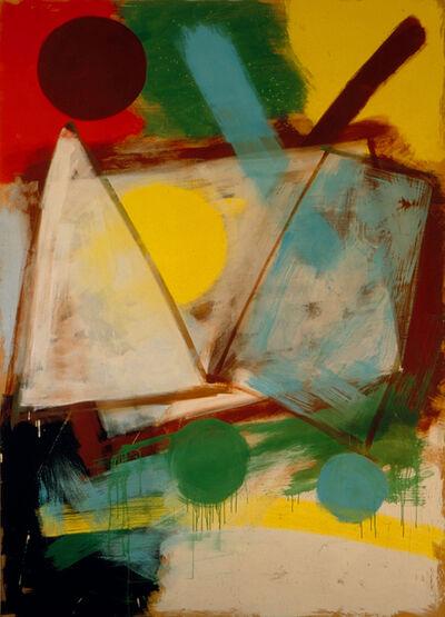 Alfonso Hüppi, 'Tafel 6', 1988