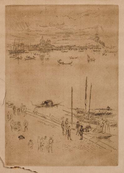 James Abbott McNeill Whistler, 'Upright Venice', 1879-80