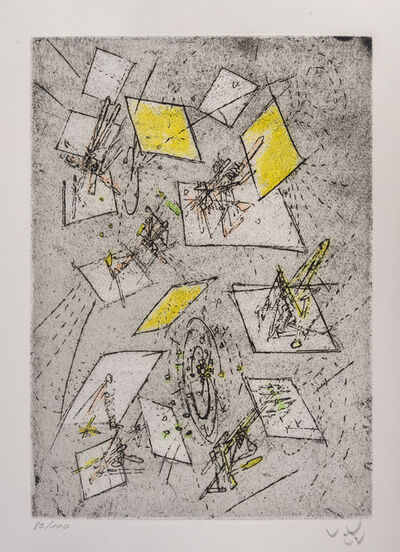Roberto Matta, 'Untitled', 1958-1971