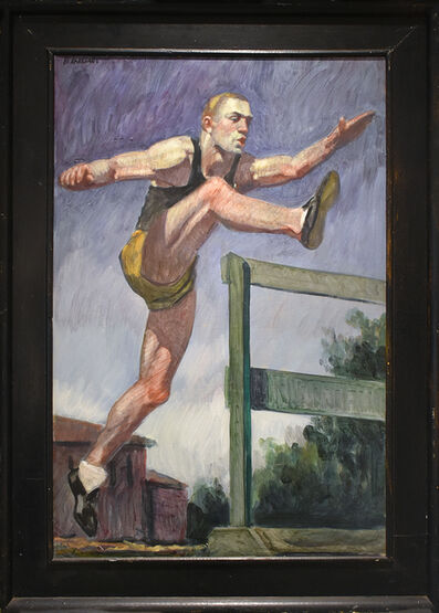Mark Beard, 'Study for Jumping the Hurdles ', date unknown