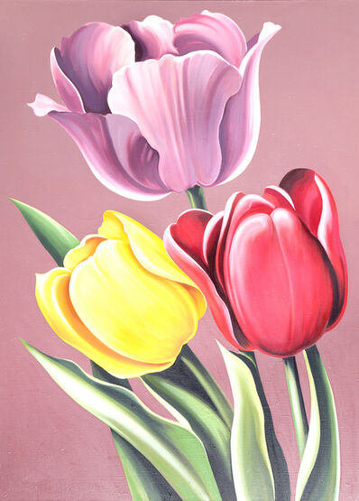 Lowell Nesbitt, 'Tulipa Hybrida', 1976