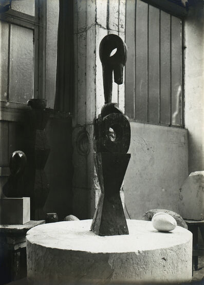 Constantin Brâncuși, 'View of the Studio: Chimera with New Born', ca. 1921