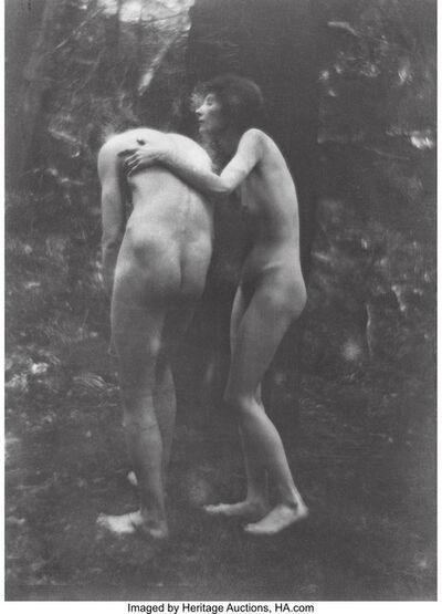 Imogen Cunningham, 'Eve Repentant', 1910