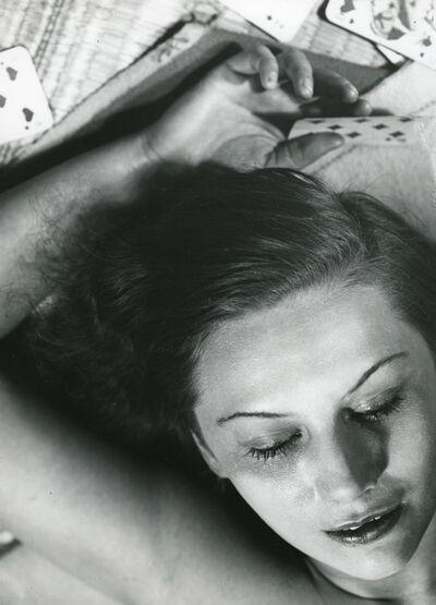 Florence Henri, 'Portrait Composition (Femme aux Cartes)', 1930