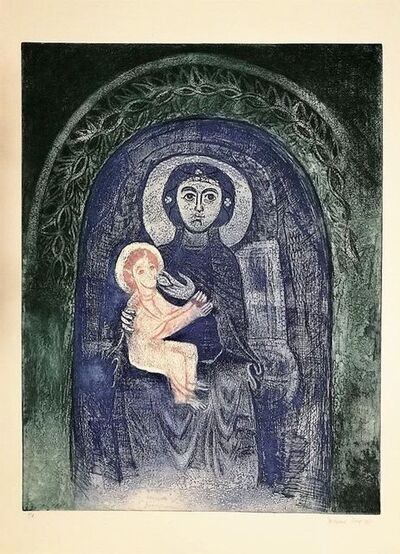 Ferdinand Oscar Finne, 'Virgin Mary with Child', 1990