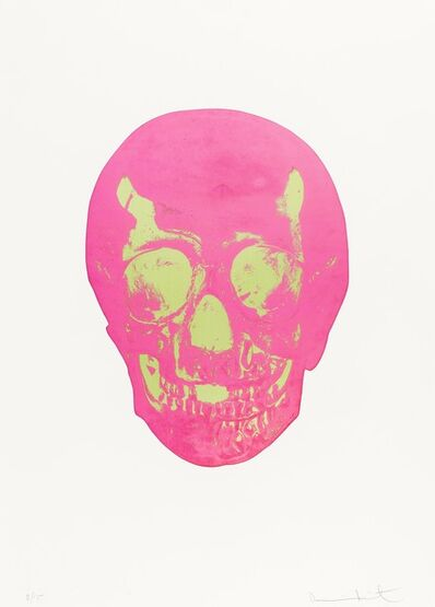 Damien Hirst, 'The Dead  (Loganberry Pink/Lime Green)', 2014