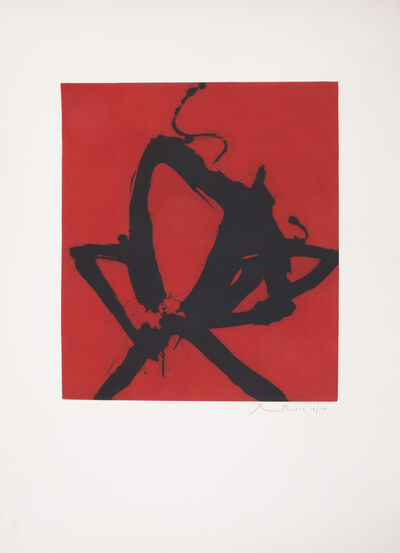 Robert Motherwell, 'Red Sea I', 1976