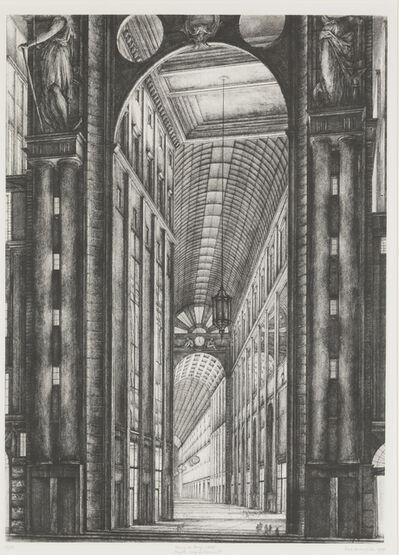 Erik Desmazières, 'Passage du Bourg l'Abbé', 1989