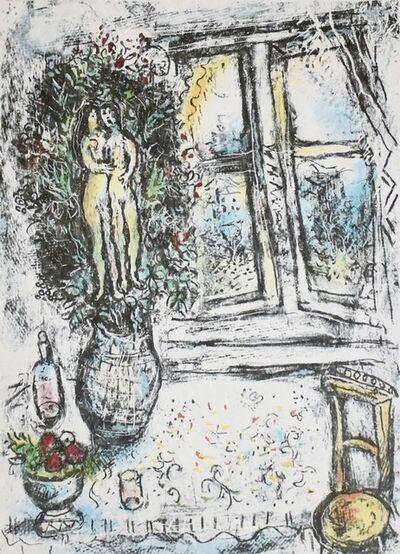 Marc Chagall, 'La Fenêtre Entrouverte (The Half-Open Window)', 1975