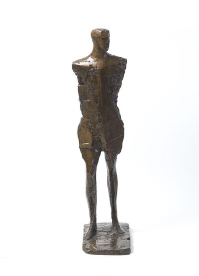 Elisabeth Frink, 'Small Figure with Goggles', 1968