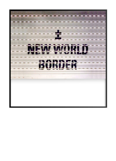 ±MaisMenos±, 'New World Order', 2020