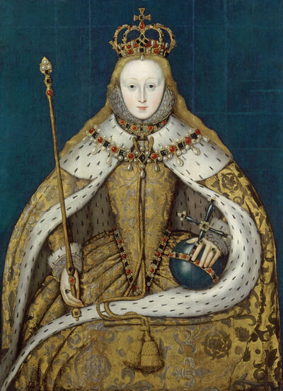 Unknown Artist, 'Elizabeth I of England', ca. 1600