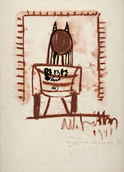 Wifredo Lam, 'Untitled', 1948