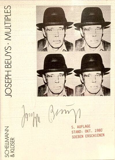 Joseph Beuys, 'Postkarte', 1980