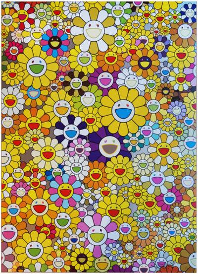 Takashi Murakami, 'A HOMAGE TO MONOGOLD 1960 B', 2012