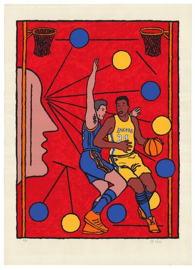 Derek Boshier, 'Basketball', 2002