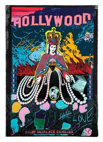 FAILE, 'Hollywood/Constellation of Gold B-Side', 2019