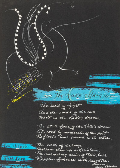Irene Rice Pereira, 'A Group of Three Works: The Hand That Drives the Heart, Dear Toni, and The Lake's Dream'