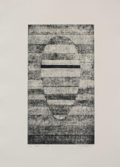 Tatsuo Kawaguchi, 'Mask', 1963