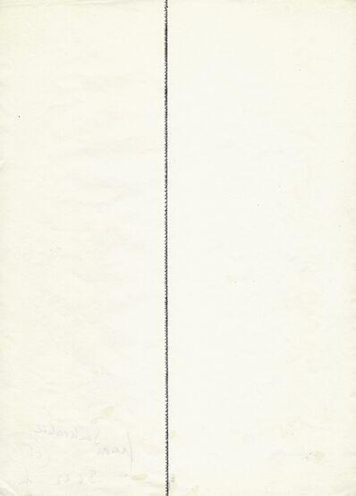 Franz Mon, 'Senkrechte', 1962