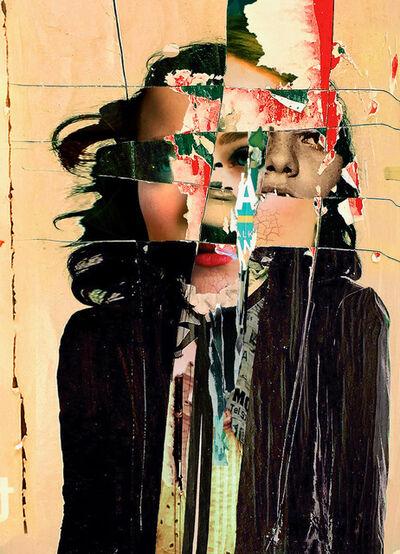 Andrew Schwartz, 'Scored Wood', N/A