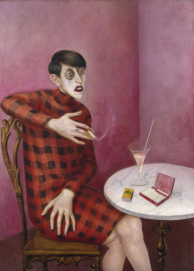 Otto Dix, 'Portrait of the journalist Sylvia von Harden', 1926