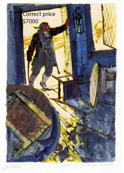 John Philip Falter, 'Treasure Island ', 1963