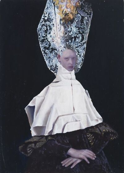 Teodora Axente, 'Helmet Lace', 2018