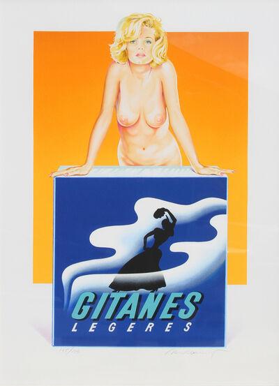 Mel Ramos, 'Gitanes', 1999