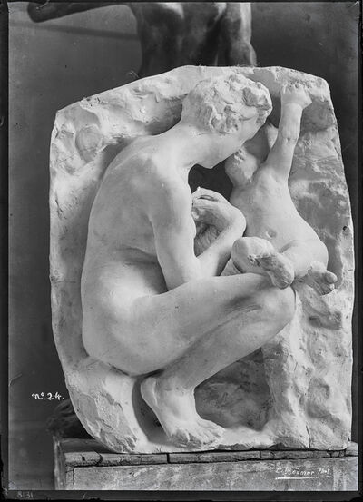Charles Bodmer, 'Jeune mère à la grotte en plâtre (Young mother in grotto in plaster)', c. 1885