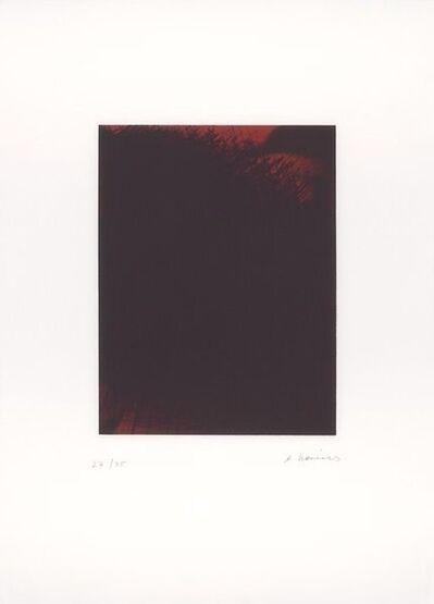 Arnulf Rainer, 'Fire-Night (Feuer-Nacht)', 2001