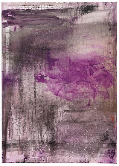 Helmut Federle, 'The Background Chronicle IX (Rose of Jericho)', 2020