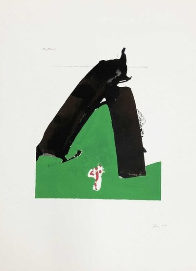 Robert Motherwell, 'Basque Suite plate 10 (Belknap 59)', 1970-71