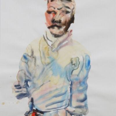 Tawan Wattuya, 'The terraccotta Warrior no.2', 2012