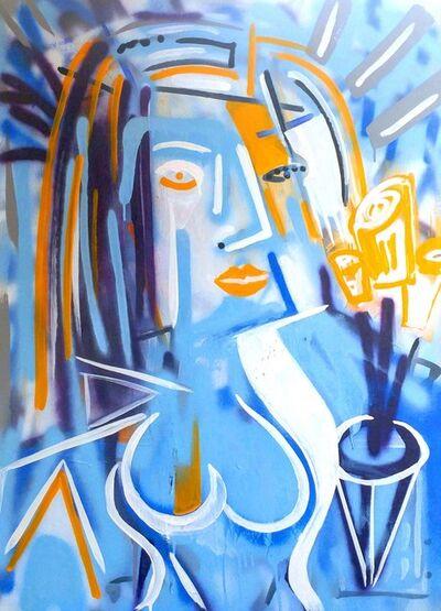 Frankie Alfonso, 'La Blue Belle', 2017
