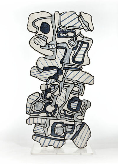 Jean Dubuffet, 'Element Bleu IX', 1967
