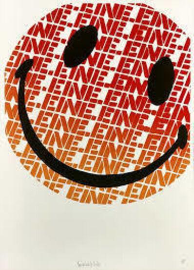 Ben Eine, 'Smiley', 2004