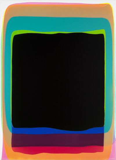Peter Zimmermann, 'black gate', 2017