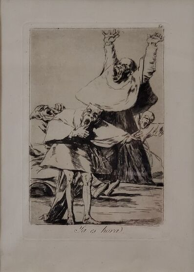 Francisco de Goya, 'Plate 80. Ya es hora', n.d.