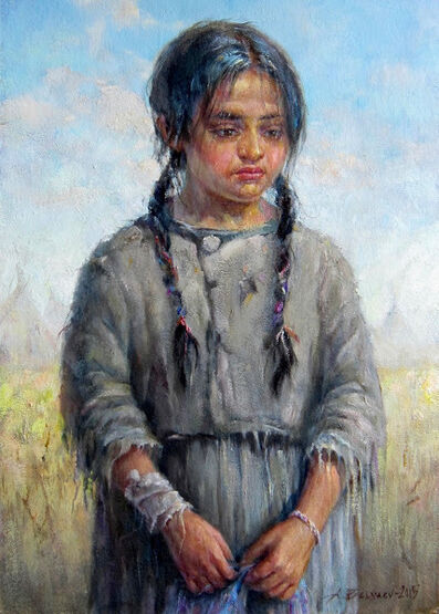 "Alexander Belyaev, '""Indian girl""', 2015"