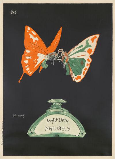 Charles Loupot, 'Parfums Naturels / Butterflies.', 1916