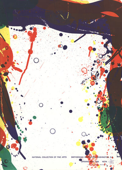 Sam Francis, 'National Collection of Fine Arts', 1968